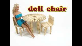 Doll Furniture Tutorial - Chair