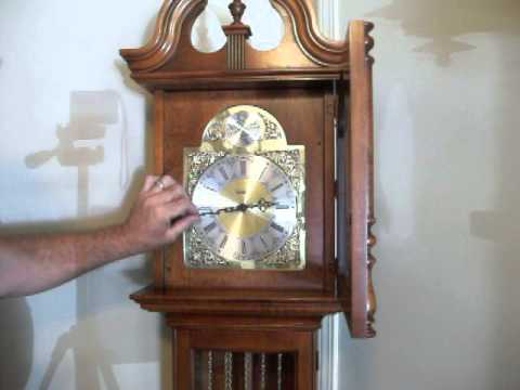 new howard miller westminster chime grandfather clock