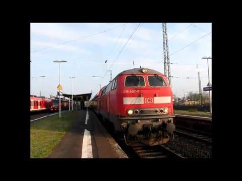 Die V160 in der Wetterau - Mach´s gut 18er!