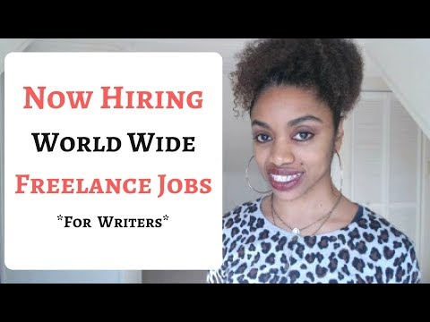 Get Paid To Write Articles Online + World Wide Freelance Jobs!