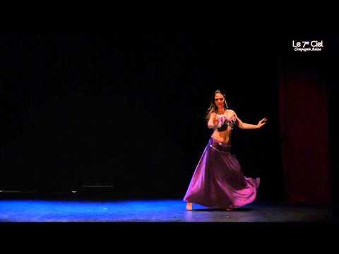 """Sarah - Solo de danse orientale - Spectacle """"Le 7e Ciel"""""""