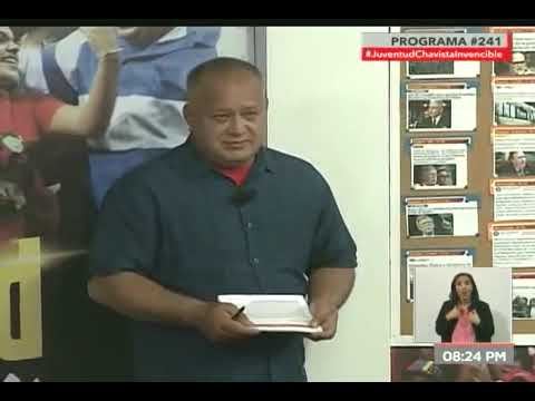 Diosdado Cabello: España impidió la llegada de 200 mil medicamentos que venían a Venezuela