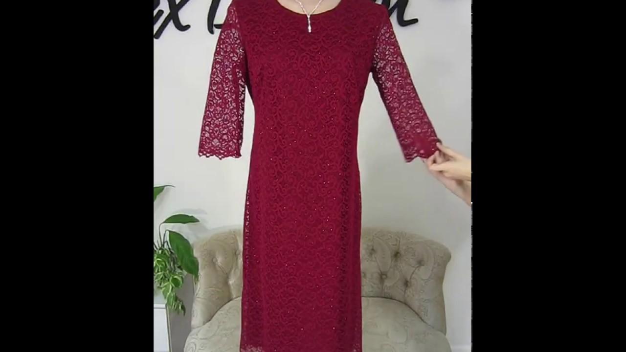 платье спицами для женщин схемы - YouTube