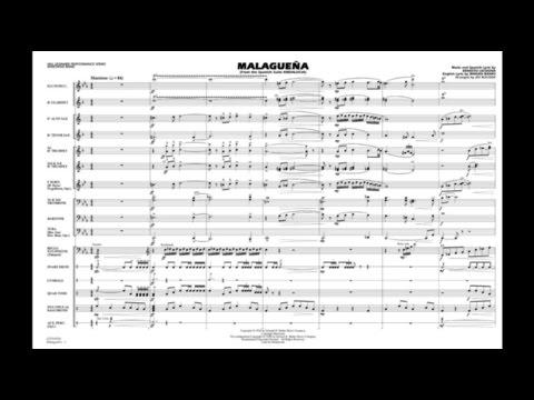 Malagueña by Ernesto Lecuona/arr. Jay Bocook