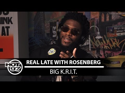 Big Krit on Real Late with Rosenberg