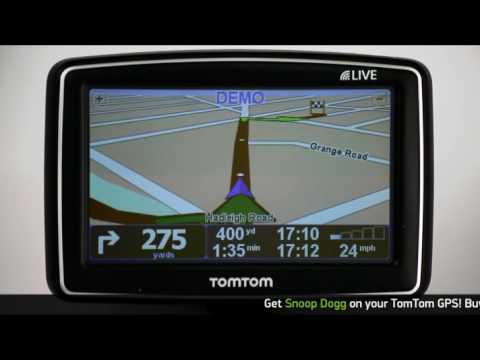 Official Snoop Dogg Celebrity GPS VoiceSkin on TomTom Demo