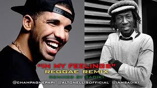 Drake - In My Feelings (Sadiki Reggae Remix) ft. Alton Ellis & Sadiki Video
