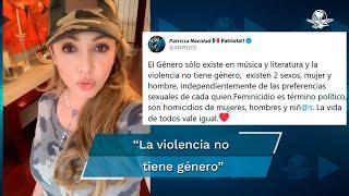 """La actriz Patricia Navidad aseguró que """"el género sólo existe en música y literatura"""""""