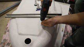 видео Установка акриловой ванны своими руками