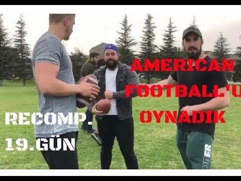 BIGMAC İLE RECOMP. 19.GÜN - ALİ FİTNESS'LA FULL BODY - AMERICAN FOOTBALL OYNADIK!