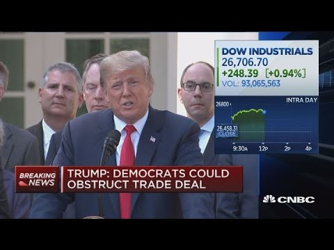 Trump: My biggest concession was making this deal with Canada