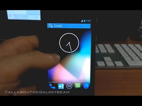 CYANOGENMOD in progress Samsung Galaxy BEAM (8530) Version 10.1