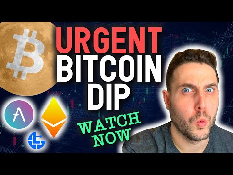 URGENT: BITCOIN DIPS! Watch this now for 100X Altcoins