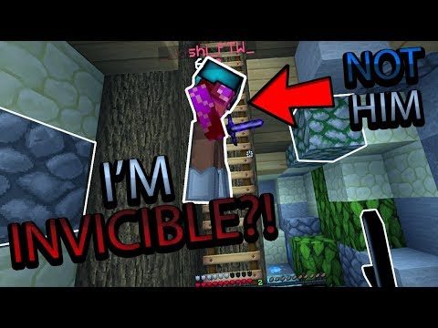 IM INVINCIBLE!? - Hypixel Skywars