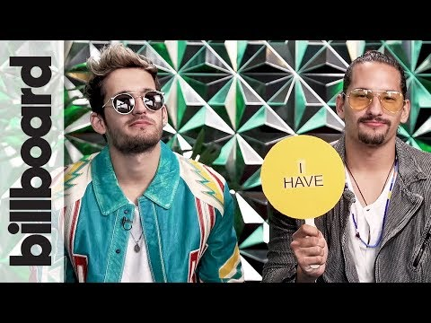 Mau y Ricky Reveal if They Have Been in Handcuffs in 'Never Have I Ever' | Billboard