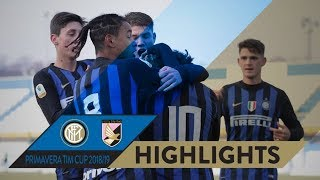 INTER 6-2 PALERMO | PRIMAVERA TIM CUP HIGHLIGHTS | A hat-trick from Merola!