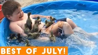 Download Ultimate Animal Reactions & Bloopers of July  2018 | Funny Pet Videos Mp3 and Videos