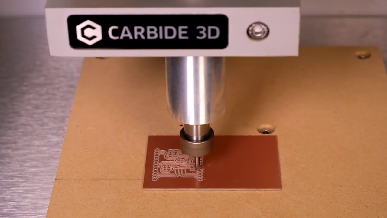 Introducing Carbide Copper - Cnc Pcb Machining Software  Carbide 3d 02:10 HD