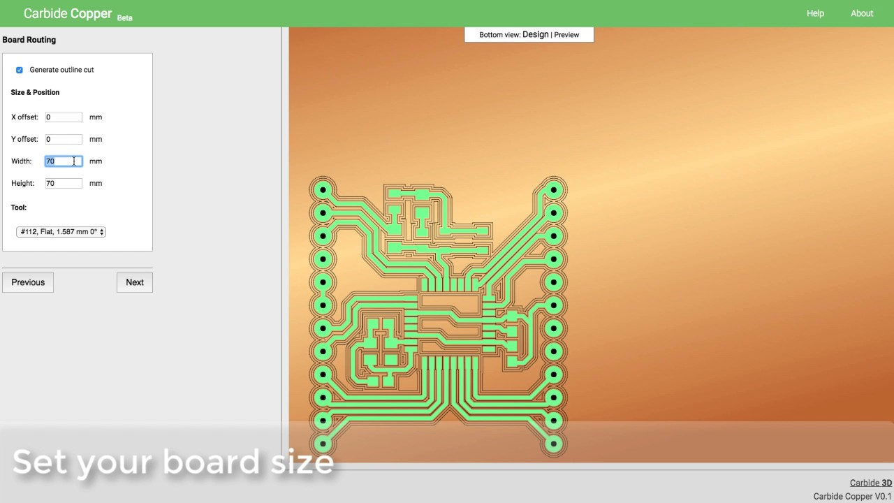 Introducing Carbide Copper - CNC PCB Machining Software - YouTube