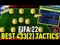 Gambar cover FIFA 22 *INSANE* META 4332 PRO PLAYER CUSTOM TACTICS/PLAYER INSTRUCTIONS!! - FIFA 21 ULTIMATE TEAM