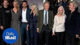 Clint Eastwood & His Family Arrive For The Premiere Of The Mule