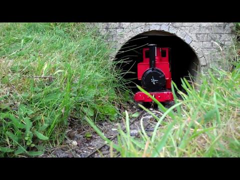 Wilton Light Railway 16mm scale SM32 live Steam Garden Railway