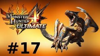 Monster Hunter 4 Ultimate Multiplayer -- Part 17: The Roaring Wyvern - Tigrex