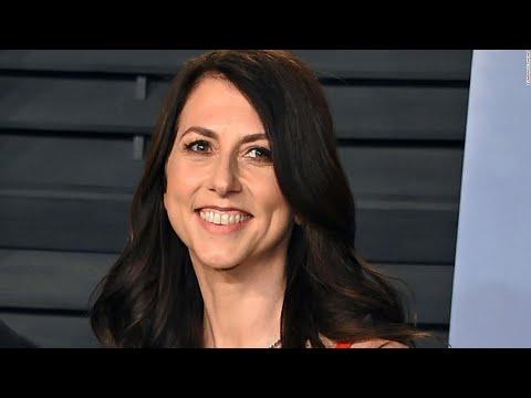 MacKenzie Scott, ex-wife of Jeff Bezos, donates $2.74 billion more ...