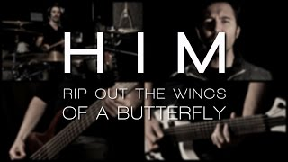 HIM - Wings Of A Butterfly (full band cover feat. Emilio Sánchez)