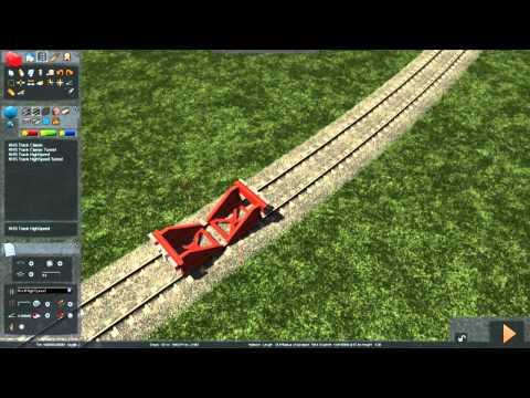Train Simulator 2014 - Tutorial 2 (Track Tools)