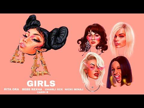 Rita Ora - Girls ft. Nicki Minaj. Cardi B, Bebe Rexha & Charli XCX (MASHUP OFFICIAL VIDEO)