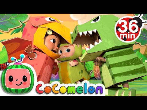 Dinosaur Song + More Nursery Rhymes & Kids Songs - CoComelon