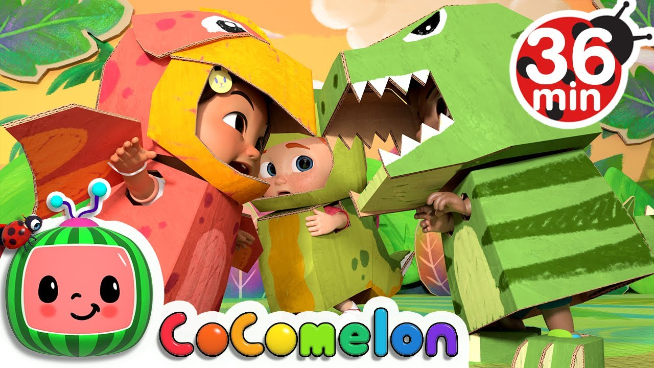 Dinosaur Song More Nursery Rhymes Kids Songs Cocomelon Youtube