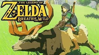 vuclip The Legend of Zelda Breath of the Wild - Switch Gameplay - Horse Dance, Riding Deer, Green Tunic
