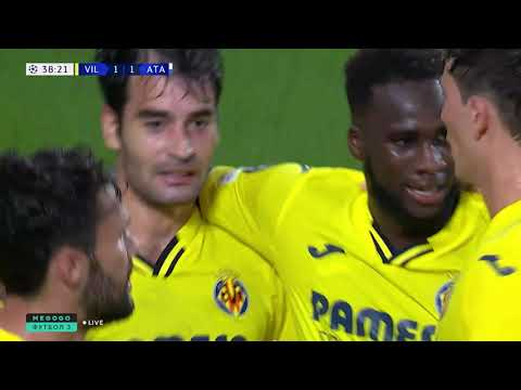 ГОЛ! Ману Тригерос. Вильярреал — Аталанта. Лига чемпионов. 14.09.2021