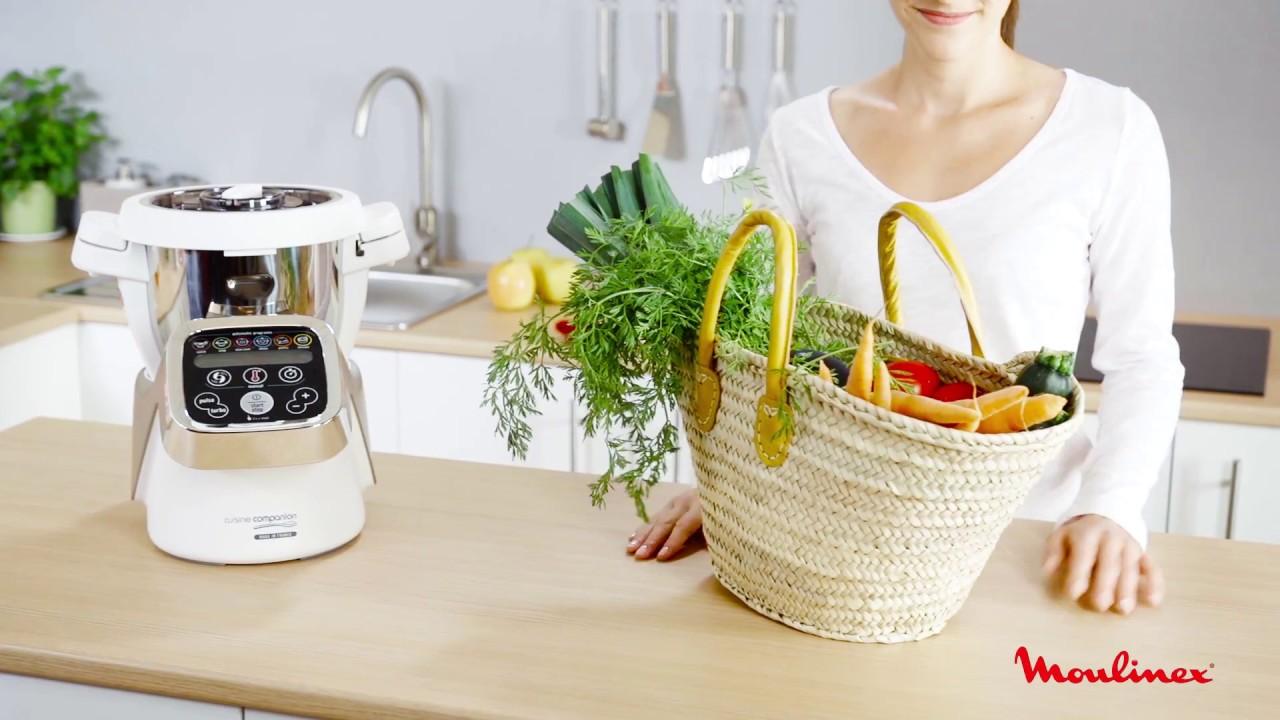moulinex companion hf800a accessoire d coupe l gumes youtube. Black Bedroom Furniture Sets. Home Design Ideas