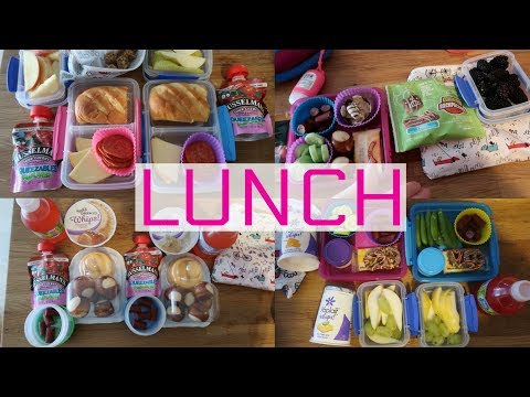 School Lunch Ideas!  - Week 7 | Sarah Rae Vlogas |