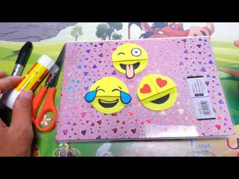 How to make paper things | Easy Emoji DIY Bookmark Corners (Paper Crafts)