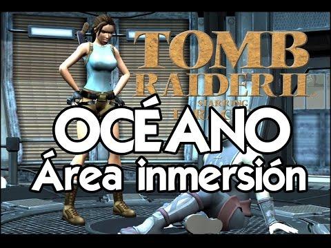 Tomb Raider 2 Gold Español 🏯 Guía completa #06 Océano: Área de inmersión