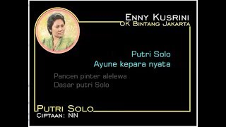 PUTRI SOLO - Enny Kusrini (Album Kroncong Langgam Jawa)