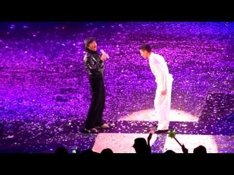 George Lam 林子祥 @ Andy Lau 刘德华 Unforgettable Concert 01/01/2011 -- 凭着爱
