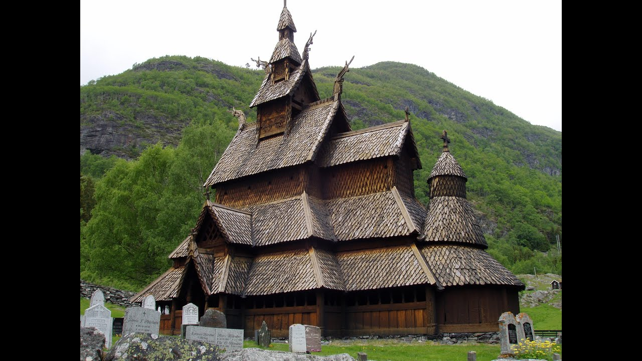 Cottage Interior Design 800 Year Old Church In Borgundstave Norway Youtube