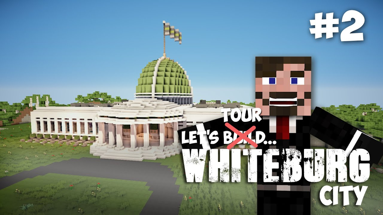 Minecraft Capitol Building YouTube - Minecraft us capitol map