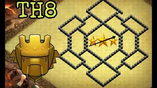 TH8 War & Farming Base ♦ 2017 Updated ♦ ANTI TH9 | ANTI DRAGON | ANTI HOG | With REPLAYS || Part 14