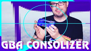 GBA Consolizer / Unboxing / Review / Gameplay - HDMI Modded Gameboy Advance - Retro GP