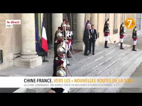 Le direct : Chine - France. Vers