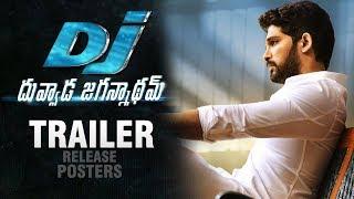 Dj duvvada jagannadham trailer release posters | dj trailer release | allu arjun | pooja heqde