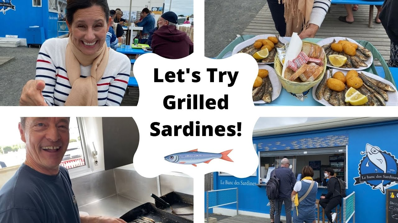 I Try My First Grilled Sardine! (BETH IN FRANCE 🇫🇷)