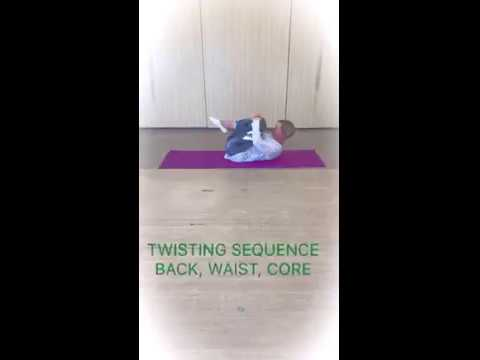 TWISTING SEQUENCE BACK/WAIST/CORE