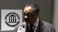 Rev Jesse Jackson at Rainbow Push Wall Street Project Economic Summit